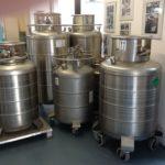 Druckbehälter für flüssigen Stickstoff