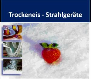 Trockeneis-Strahlgeräte